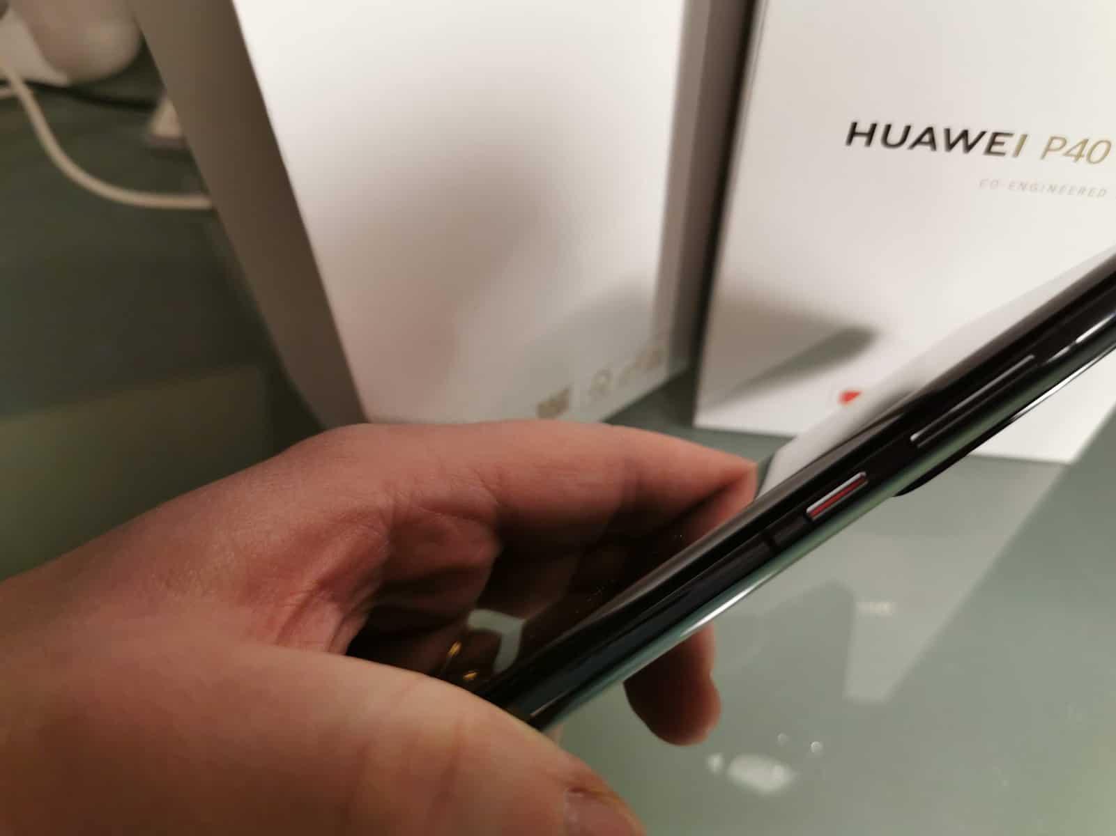 Huawei P40 Pro falha
