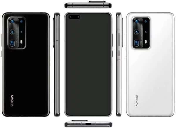 imagens do Huawei P40