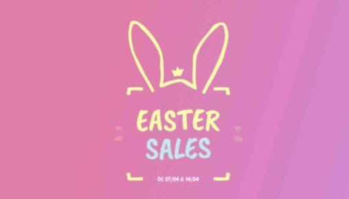 (Easter Sales) A GlobalData está novamente em promoções!
