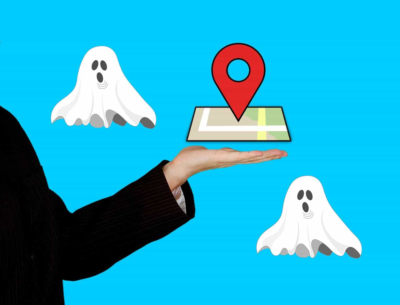 Is a ghost on the loose haunting Google Maps?