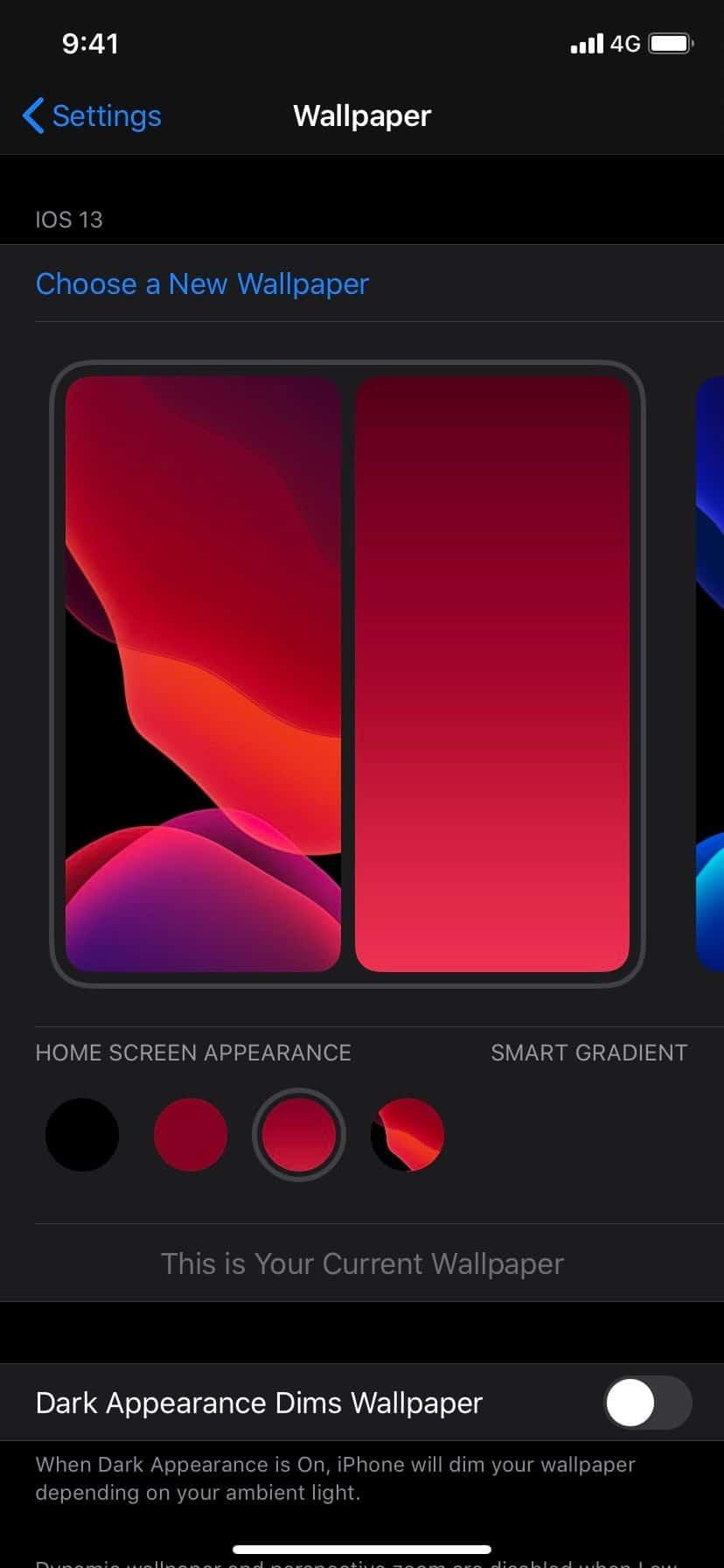 Interface do iOS 14