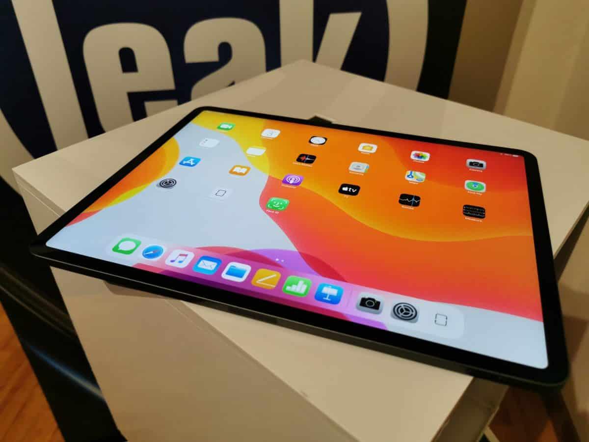 Unboxing ao iPad Pro