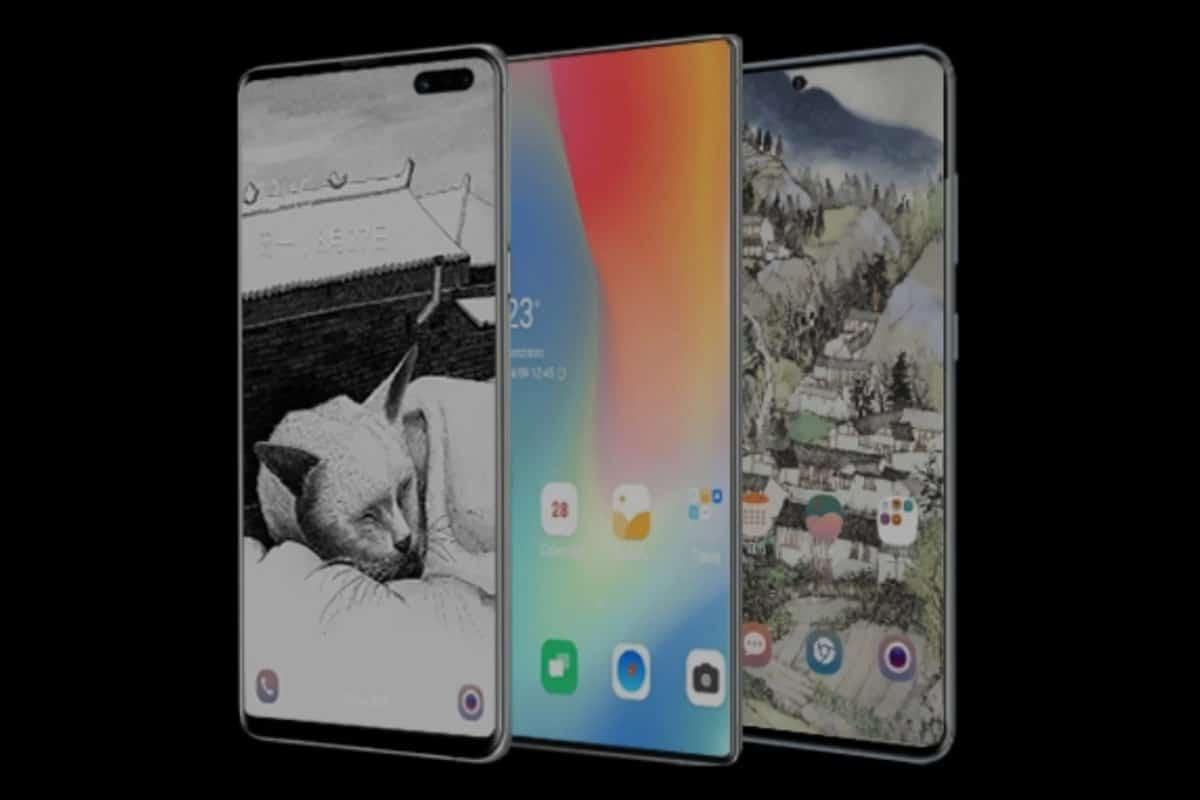 ecrã do Galaxy Note 20