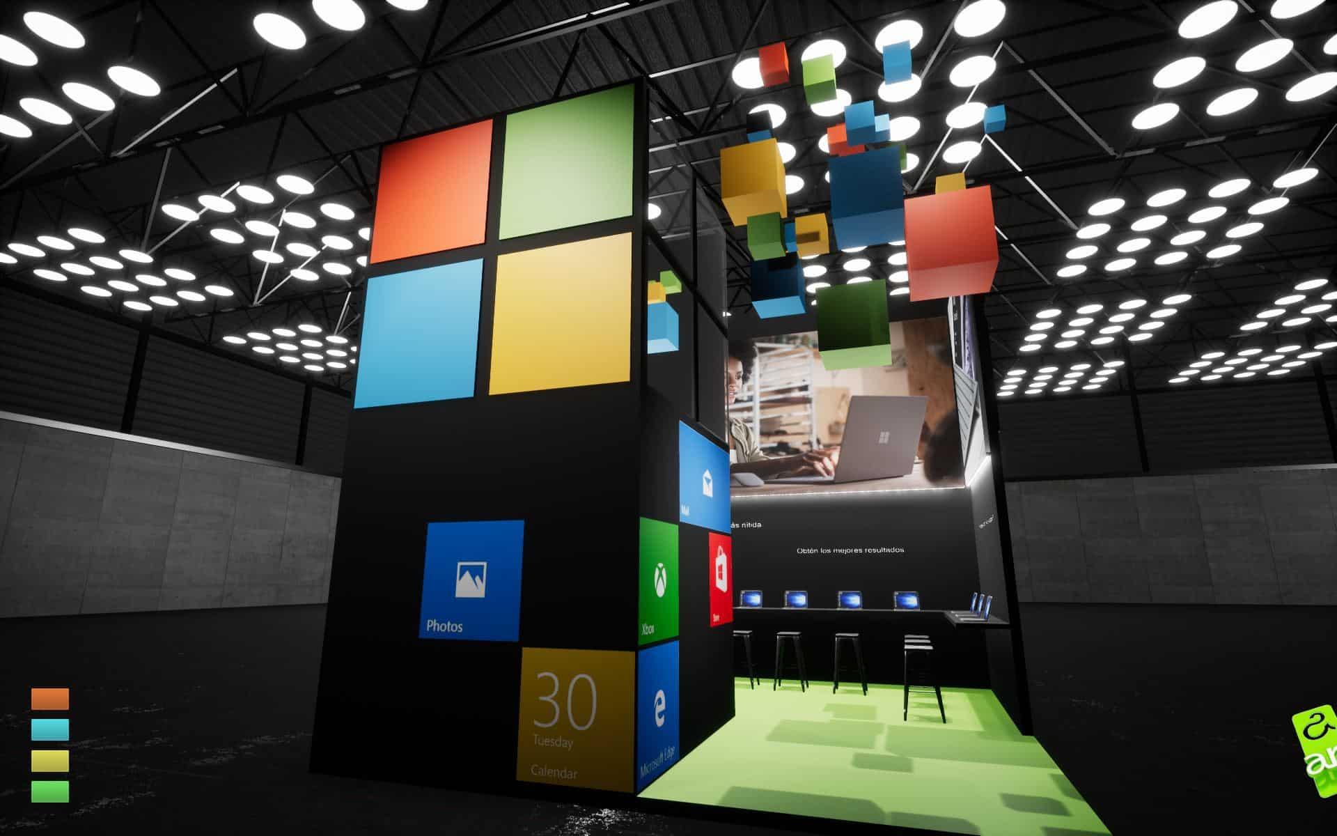 eventos Microsoft