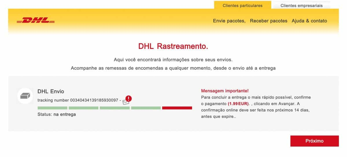 DHL esquema