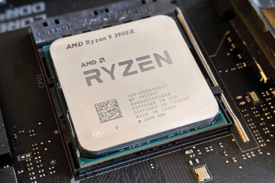 AMD, Ryzen, 3900X
