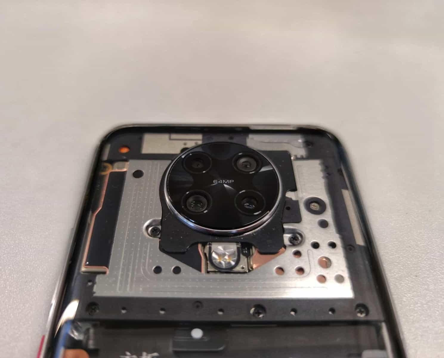 Redmi K30 Pro transparente