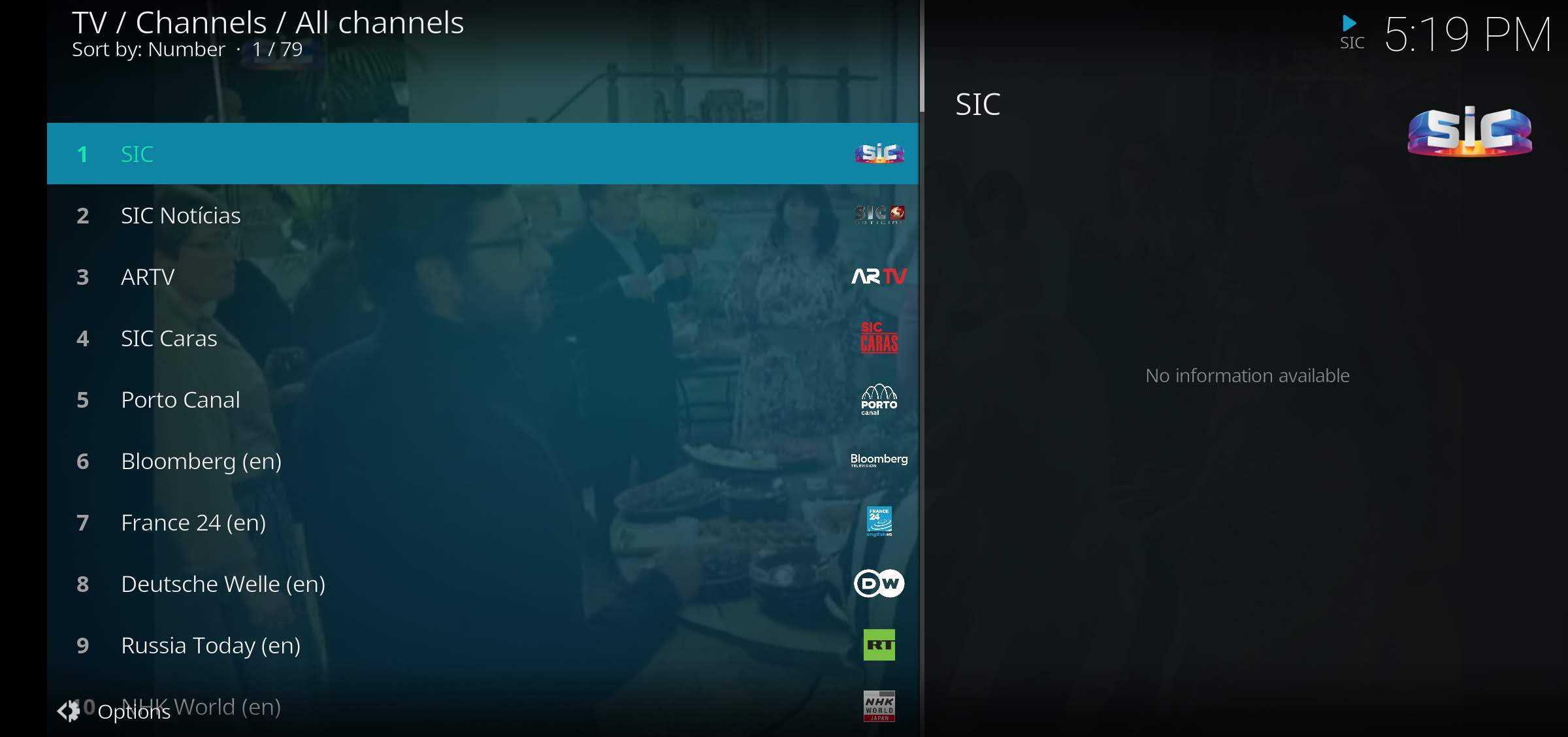 como ver IPTV
