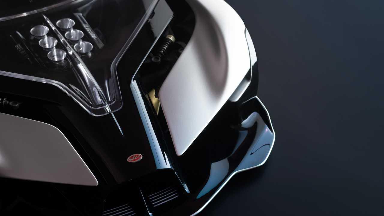 Bugatti La finale Concept - Homage to combustion engines!