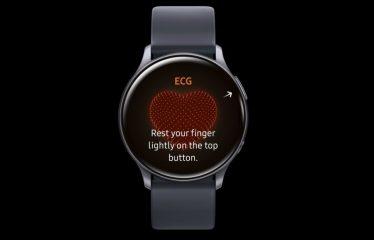 Galaxy Watch Active 2 já faz eletrocardiogramas mas só num país!