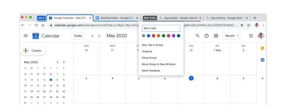 Google Chrome nova versão