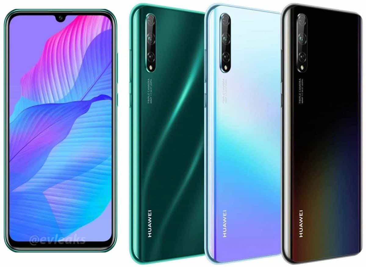 Huawei P Smart S: official renderings are already on the Internet!