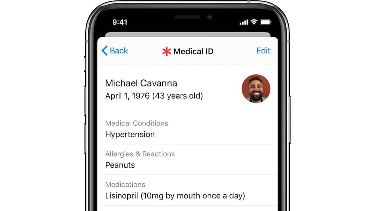 Call 112 via iPhone? You can share your medical record!