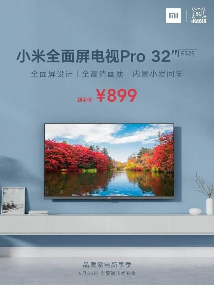 Xiaomi Mi TV Pro 32