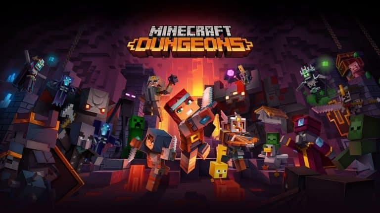 Minecraft Dungeons Julho