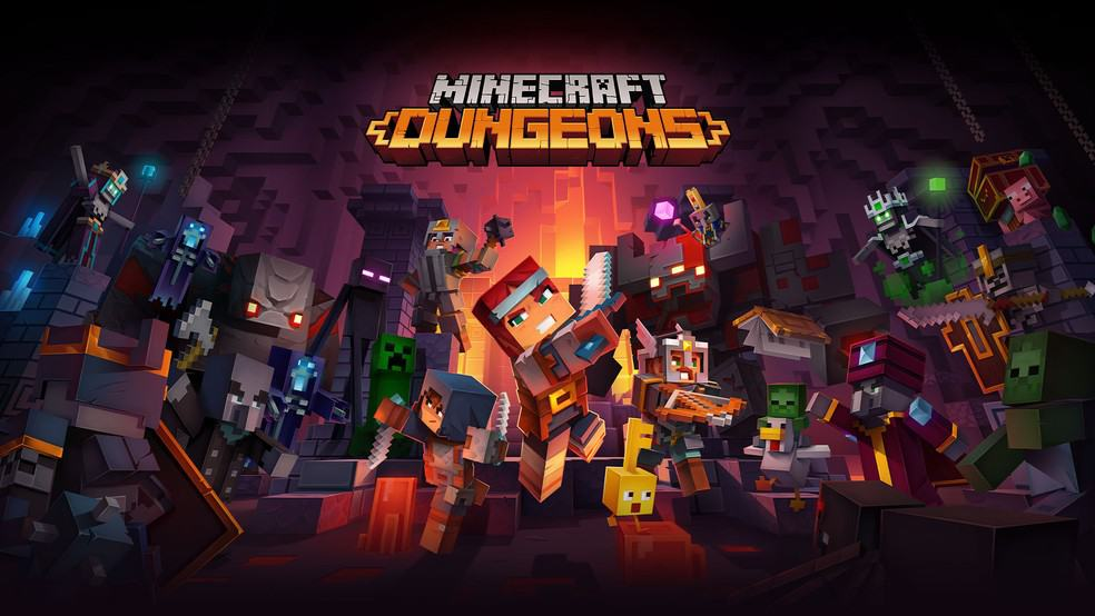 (Review) Minecraft Dungeons: Fun, out of the box, but short!
