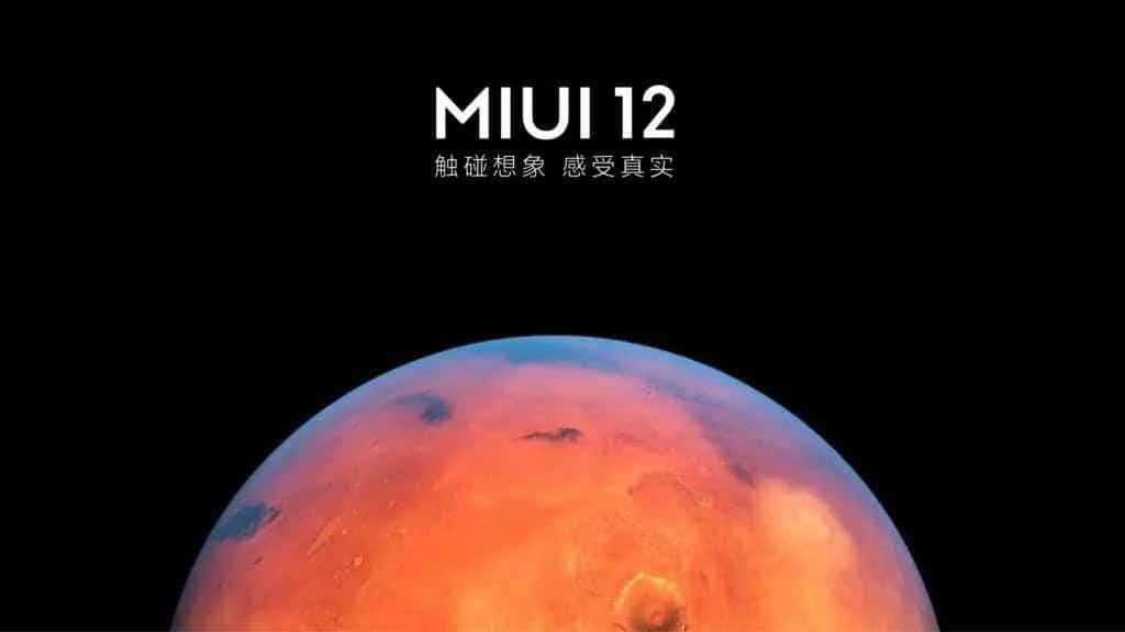 MIUI 12 distribuição