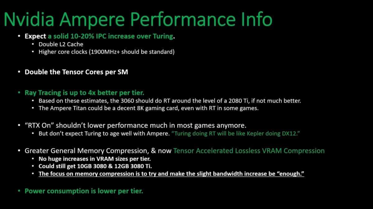 سيكون لدى GeForce RTX 3000 خاصية Ray Tracing دون حدوث انخفاض في الأداء!؟ 1