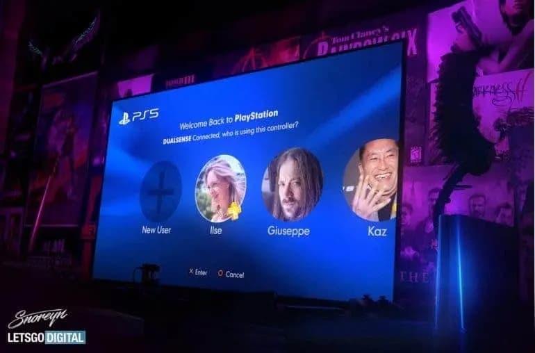 PS5 vídeo de apresentação