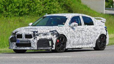 Novo Honda Civic Type R foi visto pela primeira vez em pista
