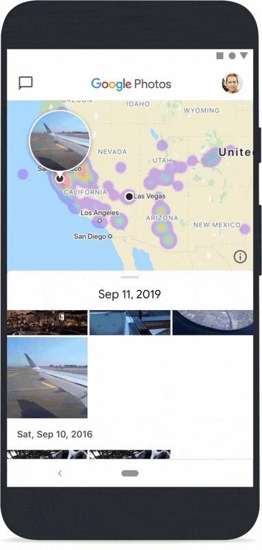 Google Fotos aplicação