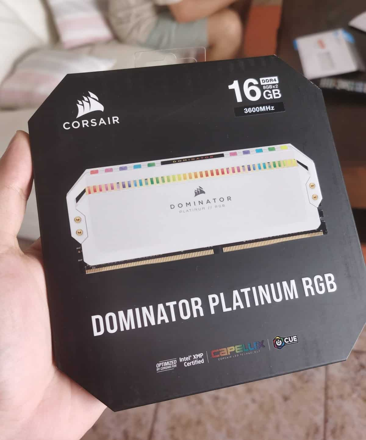 dominator, Corsair Dominator Platinum White