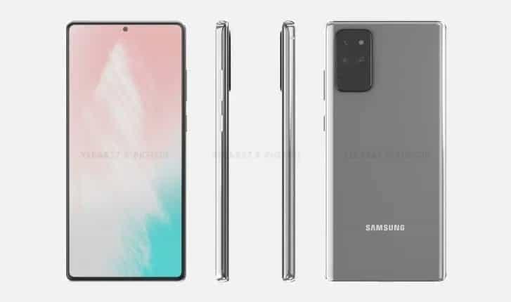 Lançamento Galaxy Note 20
