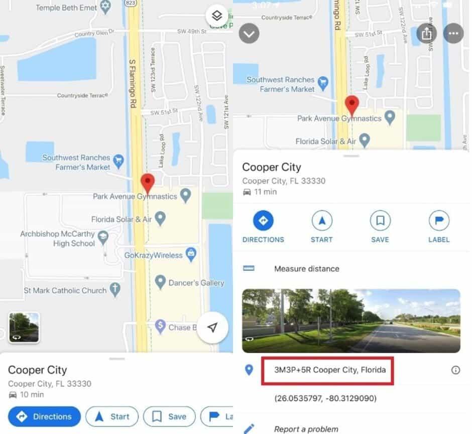 Google Maps segredo
