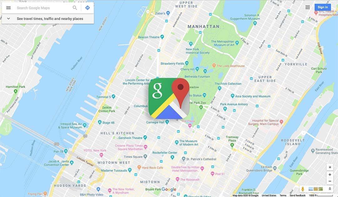 Google Maps concorrentes