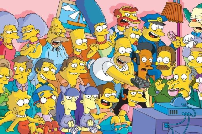 Simpsons personagens