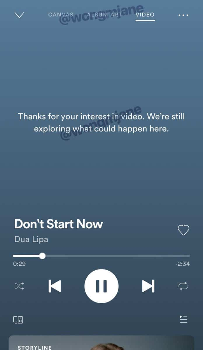 Spotify YouTube