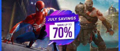 Surpresas em Julho? Jogos com 75% de desconto na PS Store!