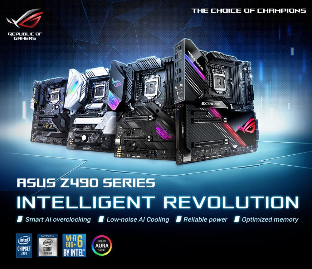 ASUS PCIe 4.0 Z490