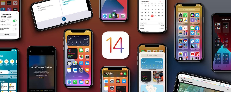 iOS 14 chega