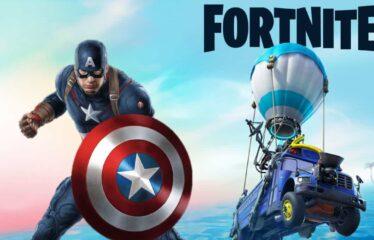 Que novidades trás o 4 de Julho ao Fortnite? O Capitão América!