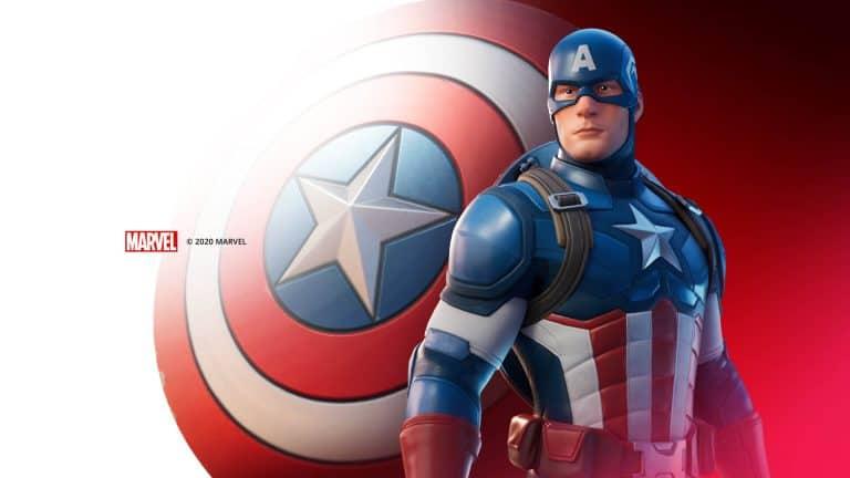 Capitão América Fortnite
