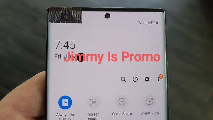 Galaxy Note 20 imagens