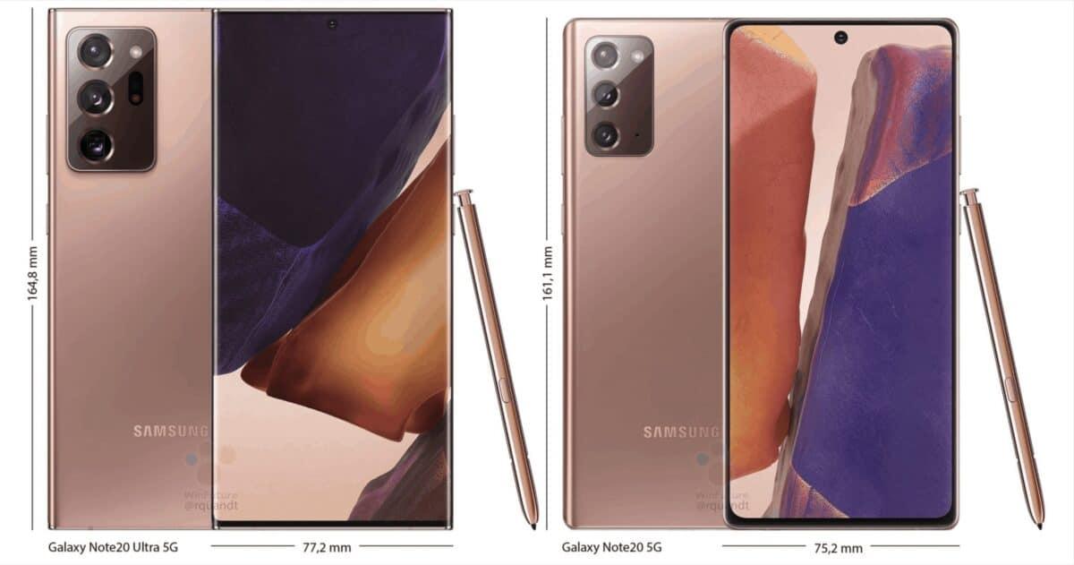 Galaxy Note 20 tecnologia