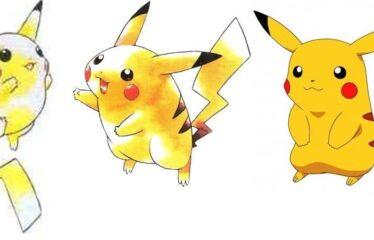 Sabia que o Pikachu era para ser um tigre com enormes seios?