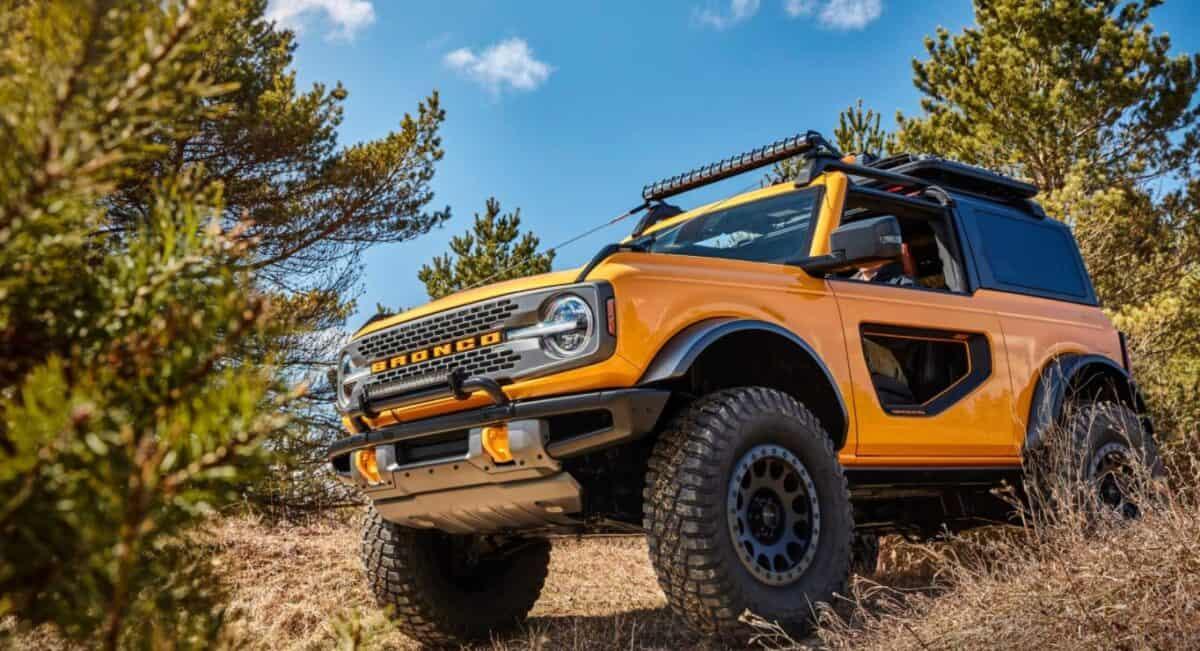 novo Ford Bronco