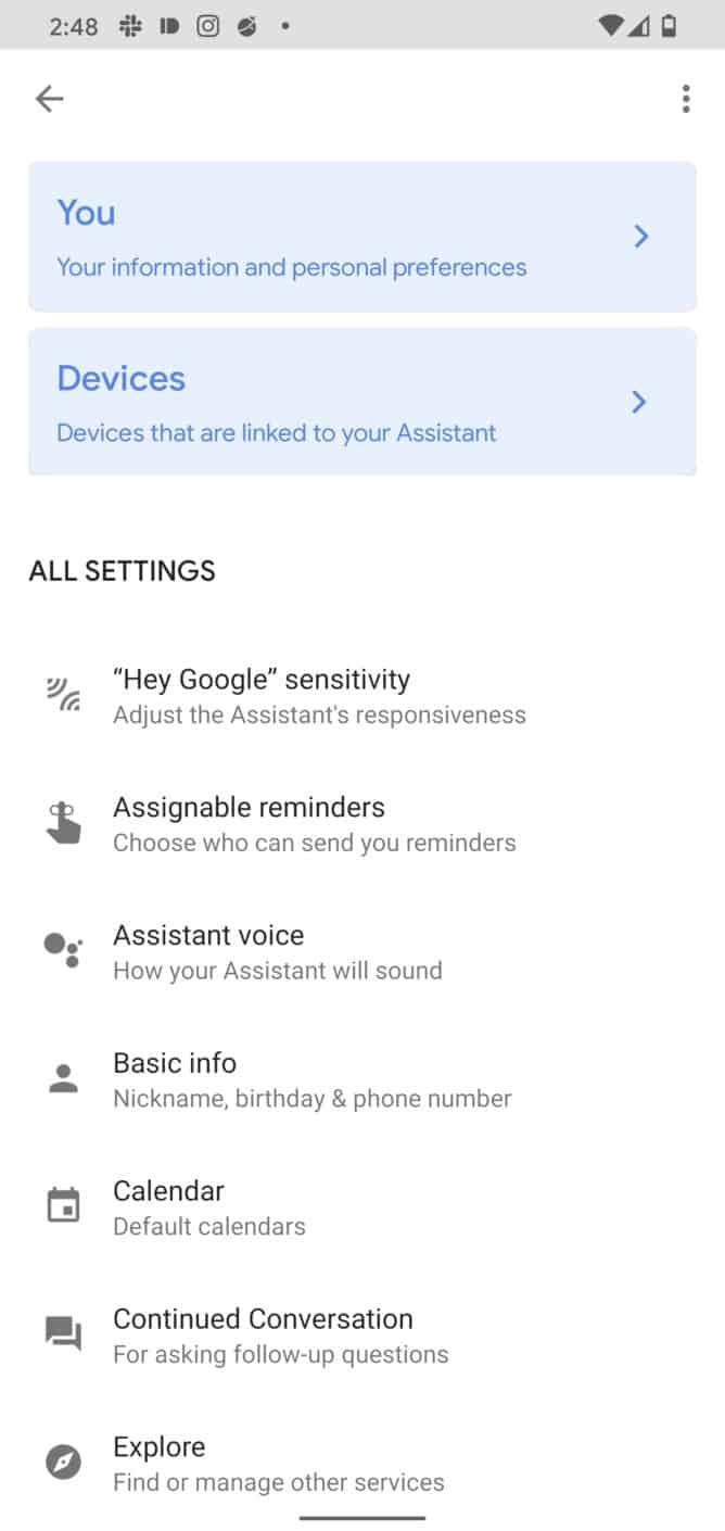 Assistente da Google novidades