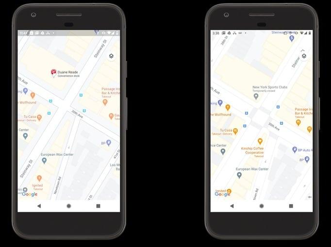 Google Maps realista