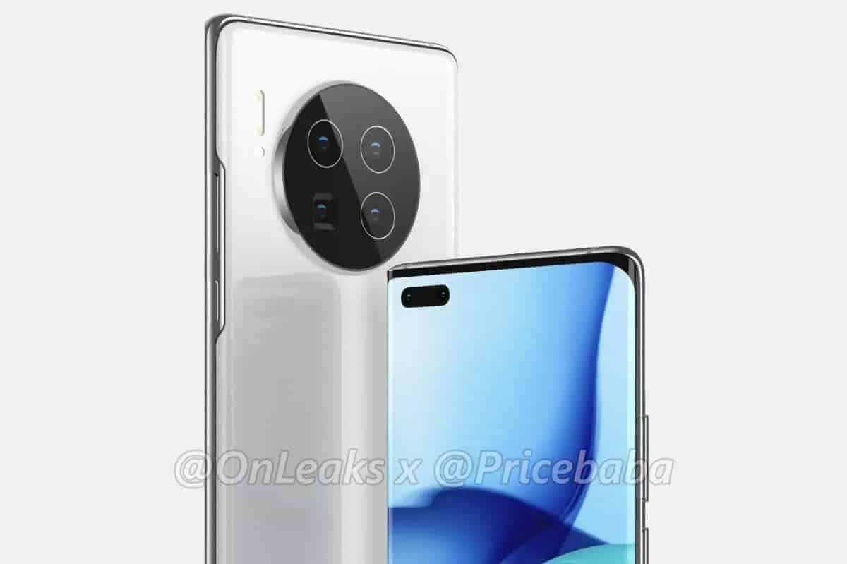 Huawei Mate X2 renderizações