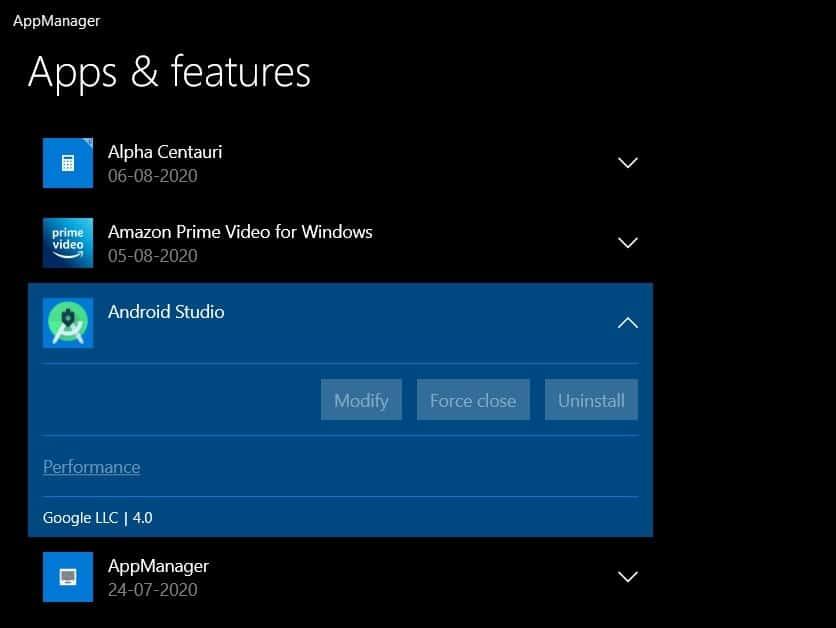 Windows 10 gestor tarefas