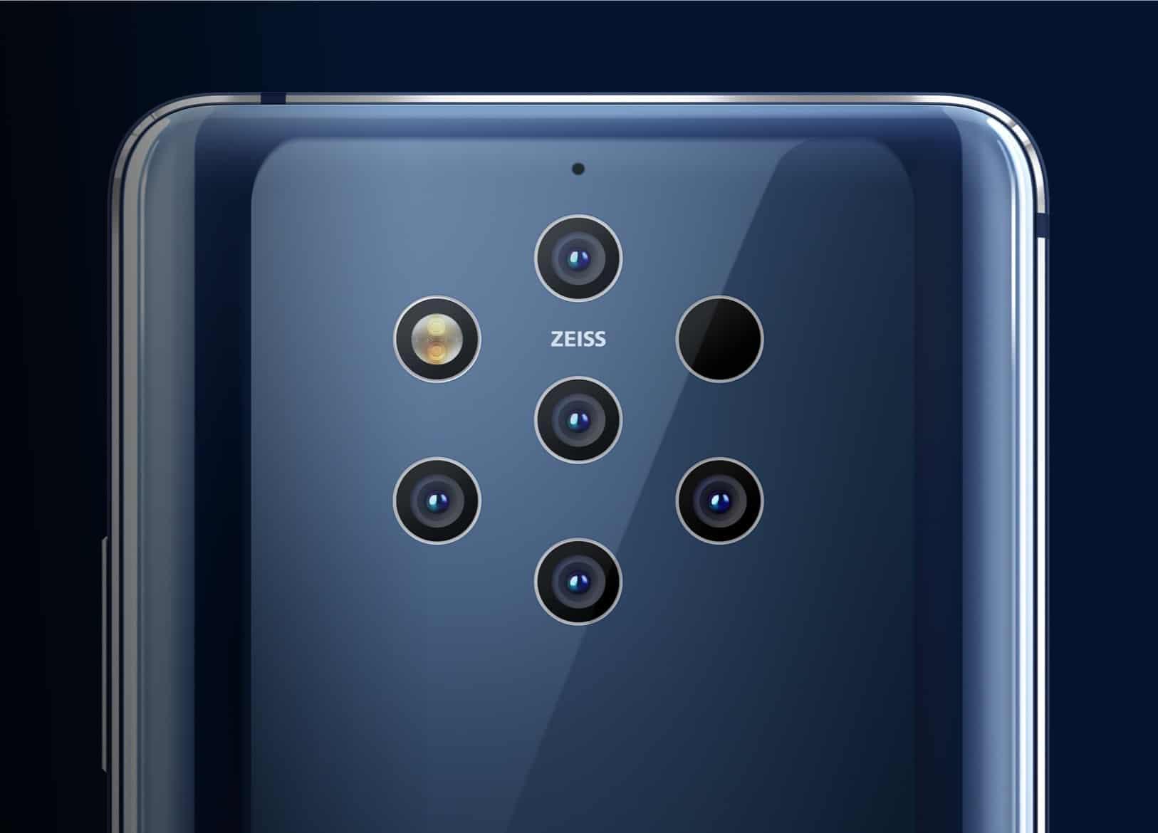 câmeras nos smartphones
