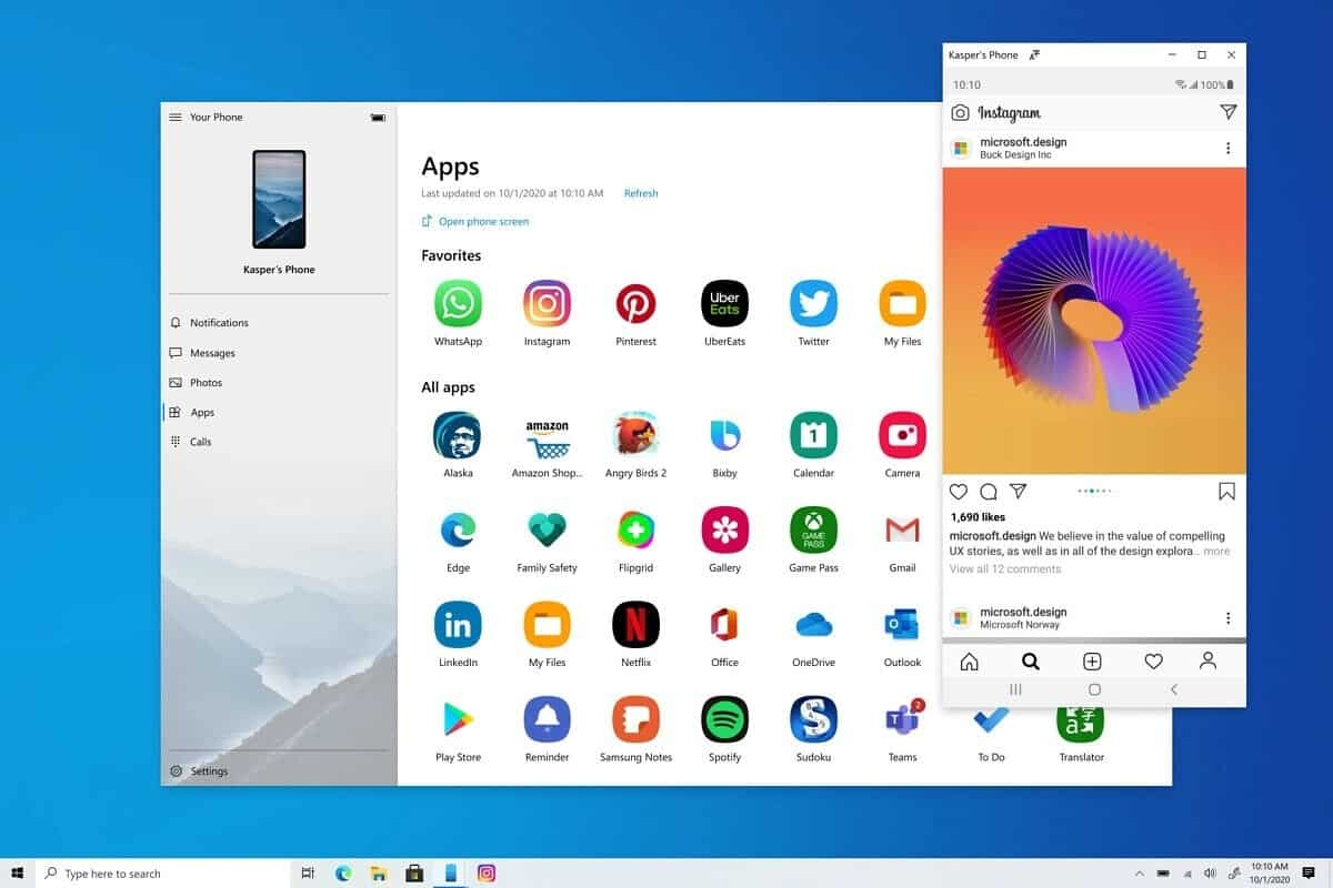 Apps Android Windows 10
