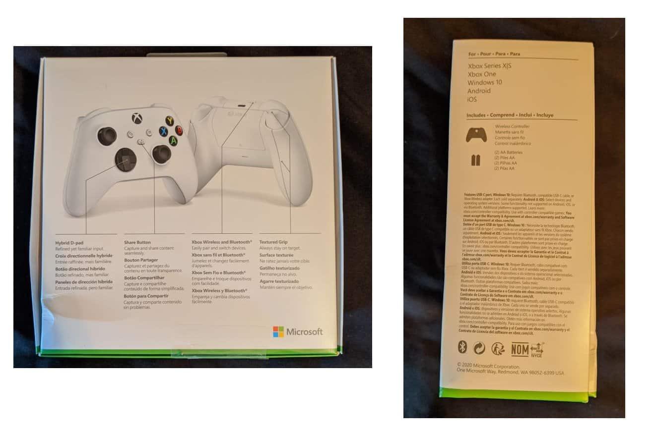 novos comandos da Xbox