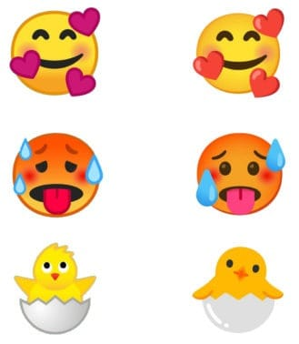 emojis no Android 11