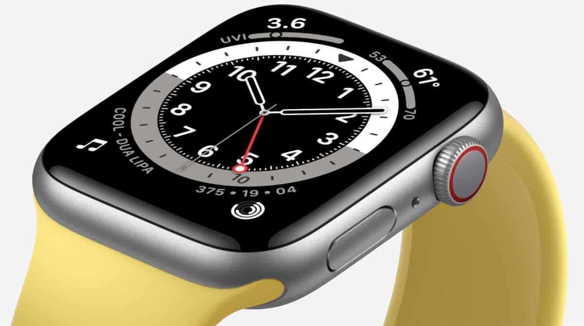 Apple Watch 6 oficial