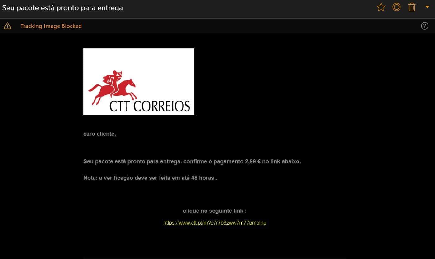 e-mails ctt dhl